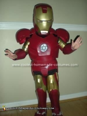 Homemade Ironman Halloween Costume