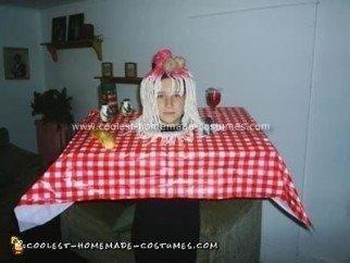 Homemade Italian Dinner Costume