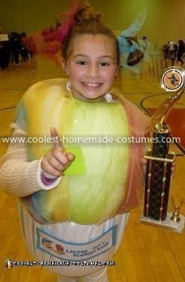 Homemade Italian Ice Costume