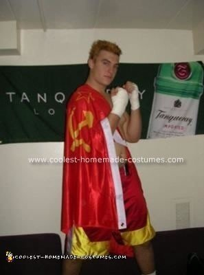 Homemade Ivan Drago from Rocky Costume