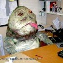 Homemade Jabba the Hutt Costume