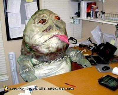 Homemade Jabba the Hutt Costume