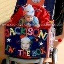 Homemade Jack in the Box Stroller Costume
