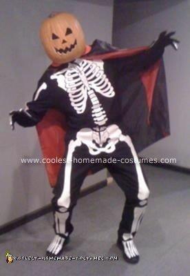 Jack o' Lantern Skeleton Costume