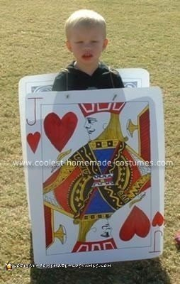 Homemade Jack of Hearts Costume