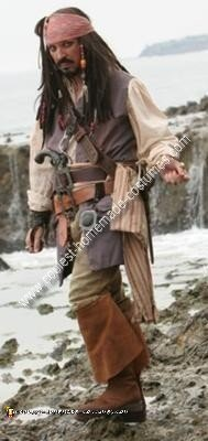 Homemade Jack Sparrow Costume