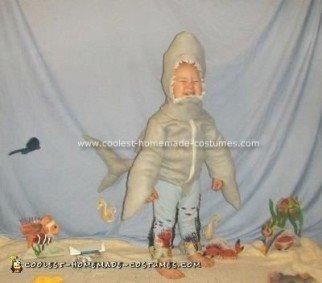 Homemade Jaws Shark Costume