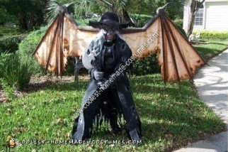 Homemade Jeepers Creepers Halloween Costume Idea