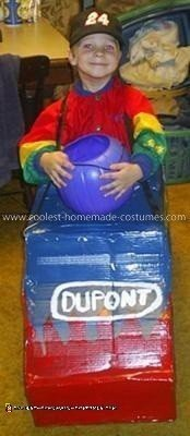 Homemade Jeff Gordon Costume