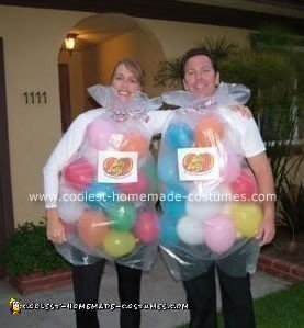 Jelly Belly Couple Costume