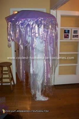 Homemade Jellyfish Costume Design