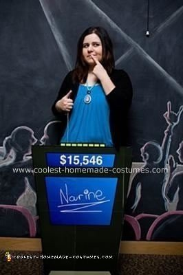 Homemade Jeopardy Contestant Costume