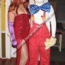 Homemade Jessica Rabbit and Roger Rabbit Couple Costume