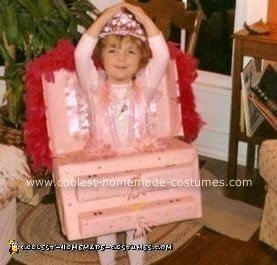 Homemade Jewelry Box Ballerina Costume