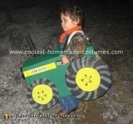 Homemade John Deere Costume