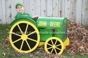 Homemade John Deere Halloween Costume
