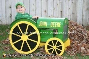 Homemade John Deere Halloween Costume
