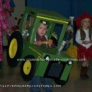 Homemade John Deere Tractor Costume