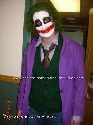 Homemade Joker Halloween Costume