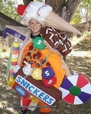 Homemade Junk Food Costume