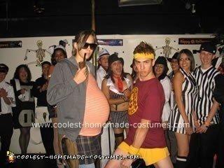 Homemade Juno Macguff and Paulie Bleeker from Juno Costume