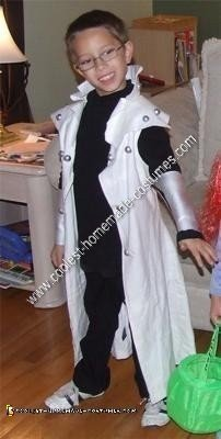 Homemade Kaiba from Yugioh Child Halloween Costume Idea