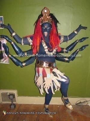 Homemade Kali Costume Idea