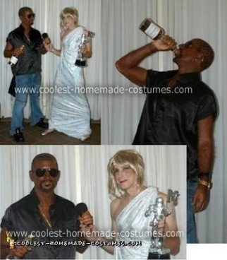 Homemade Kanye West and Taylor Swift at Video Music Awards Costume