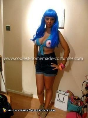 Coolest Homemade Katy Perry Costume