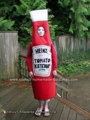 Homemade Ketchup Costume