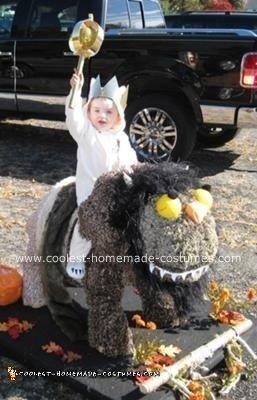 Homemade King Of The Wild Things Halloween Costume