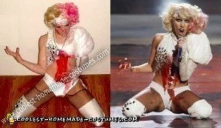 Homemade Lady Gaga MTV Video Music Awards 2009 Costume