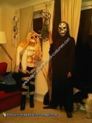 Homemade Lady Gaga Murderer Costume
