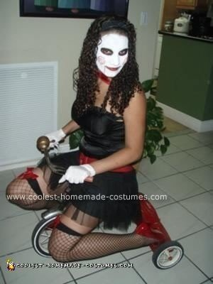 Homemade Lady Jigsaw Costume