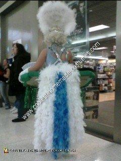 Homemade Lady Luck Halloween Costume Idea
