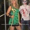 Homemade Lady Riddler Costume