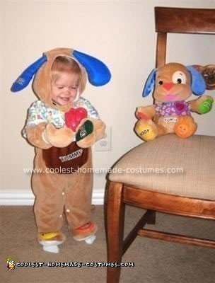 Homemade Laugh and Learn Puppy Costume