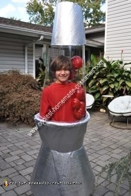Homemade Lava Lamp Costume