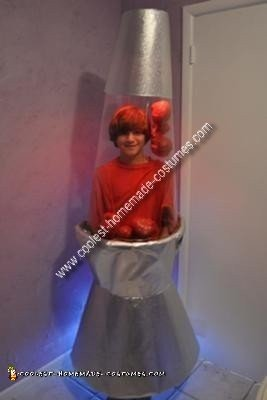 Homemade Lava Lamp Costume