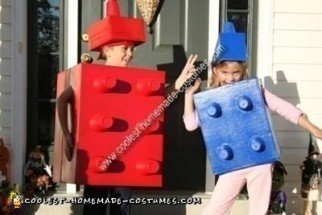 Homemade Lego Blocks Costume