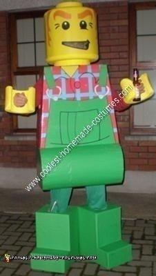 Homemade Lego Men Adult Group Costume Idea
