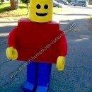 Homemade Lego Mini Figure Costume