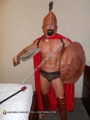 Homemade Leonidas King of Sparta Costume