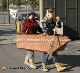Homemade Lewis and Clark Couple Costume