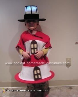 Homemade Lighthouse Halloween Costume