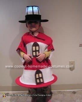 Homemade Lighthouse Halloween Costume