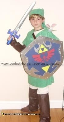 Homemade Link from the Legend of Zelda Costume