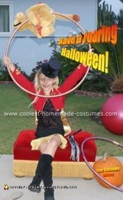 Homemade Lion Tamer Halloween Costume