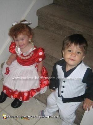 Homemade Little I Love Lucy and Ricky Homemade Costumes