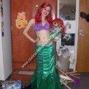 Homemade Little Mermaid Costume